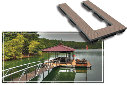 Boat Dock Rendering
