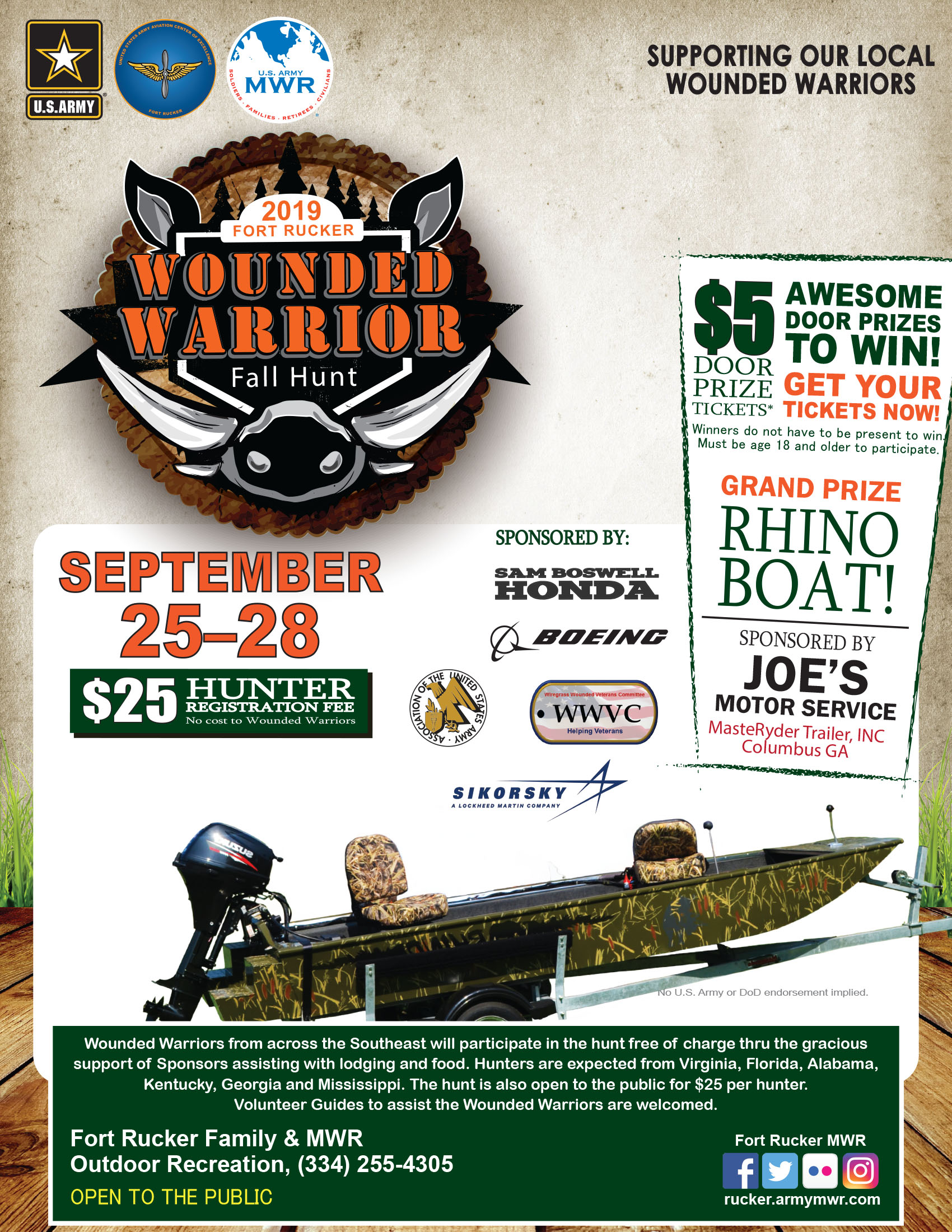 Wounded Warrior Fall Hunt 2019
