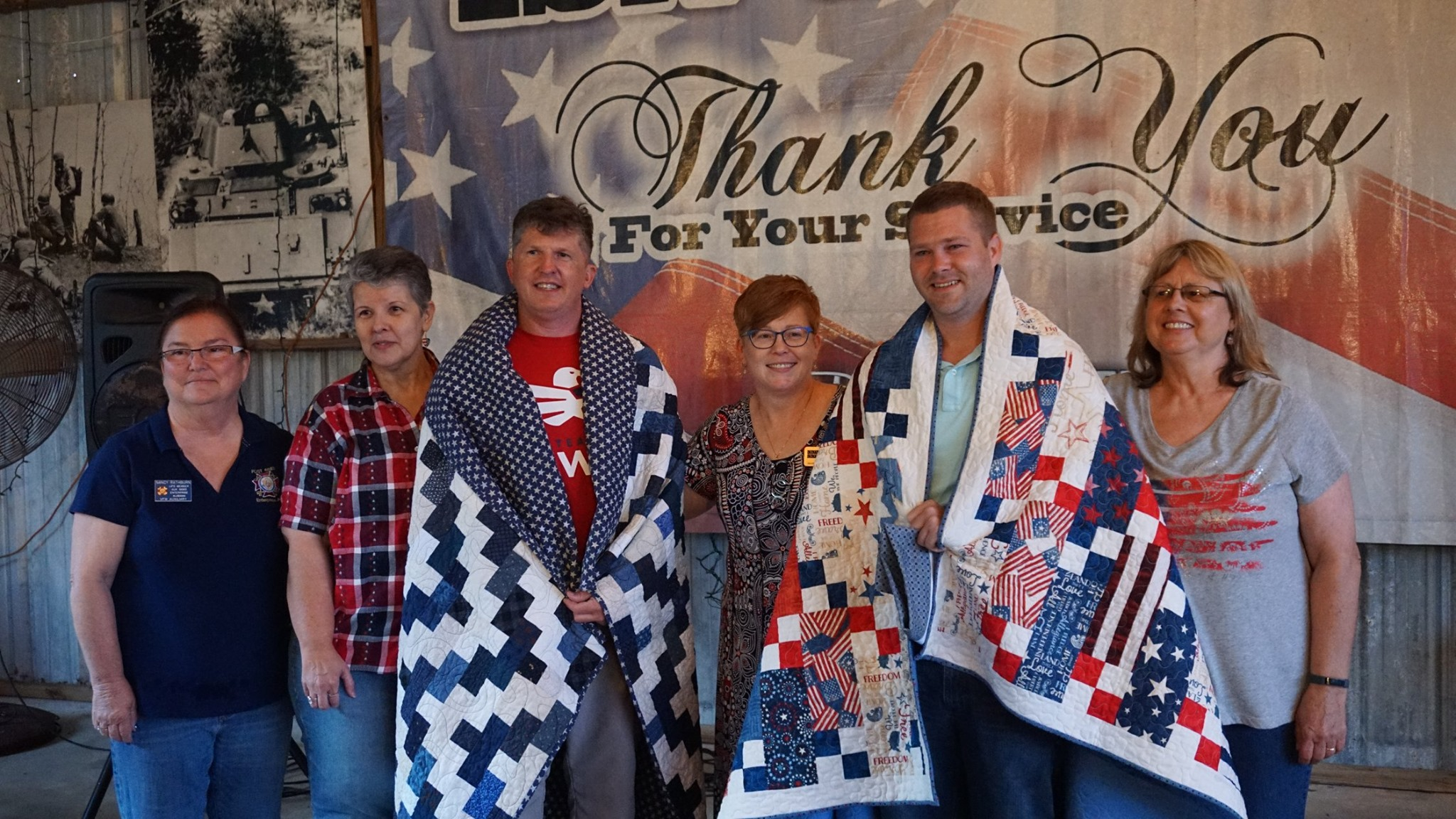 Quilts of Valor Group 2019